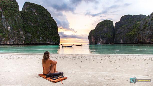 Como chegar em Maya Bay - Maya Bay Sleep Aboard: vale a pena dormir na praia mais famosa da Tailândia?